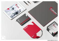 """""""Cultures"""" Brand Identity by CIRCLE - visual communication  -- #Circle #CreativeAgency #DesignAgency #Lebanon #UAE #design #logo #logodesign #branding #stationery #signage"""