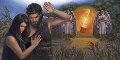 Ο Αδάμ και η Εύα διώχνονται από τον κήπο της Εδέμ