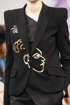 See detail photos for Schiaparelli Fall 2016 Couture collection.