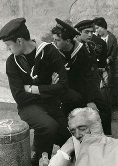 Herbert List, Vittorio de Sica in Naples (1961)