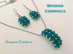 How to make Charming Earrings Christmas gift ideas - YouTube