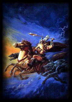 Odin was de meest begaafde onder hen en van hem leerden ze alle. Althans de meeste kunsten, want hij beheerste ze als eerste allemaal. En als men verklaren moet waarom Odin  zozeer geëerd werd, dan was dat om de volgende redenen: Als hij bij zijn vrienden zat, was hij zo mooi en indrukwekkend om te zien, dat het een ieder warm om het hart werd.
