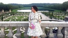 LOTD: Heart Evangelista Captures the Eyes of the Paparazzi in Paris Heart Evangelista, Classy Chic, City Lights, Filipino, Spring Summer Fashion, Ph, Lace Skirt, Wanderlust, Short Sleeve Dresses