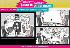 What you learn having a girlfriend