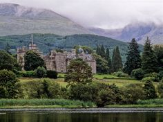 Inverlochy Castle Scottish Highlands