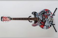 Mike Friedrich Customised Guitar