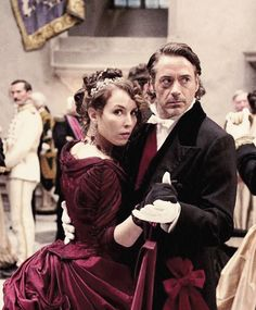 """Robert Downey Jr. and Noomi Rapace in """"Sherlock Holmes: A Game of Shadows"""""""