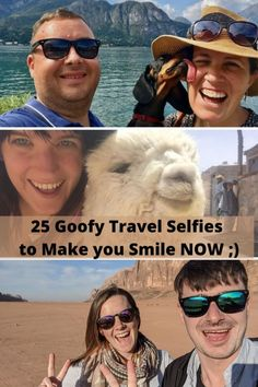 25 Goofy Travel Selfies to Make you Smile NOW ;)