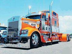 Show Trucks, Big Rig Trucks, Heavy Duty Trucks, Heavy Truck, Custom Big Rigs, Custom Trucks, Vw Bus, Auto Union 1000, Wiking Autos