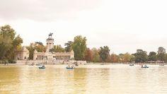 Otoño en el parque del Retiro , otoño en Madrid #madrid #spain #parquedelretiro #retiro #otoño