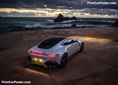 Aston Martin Vantage 2019 poster #printcarposter