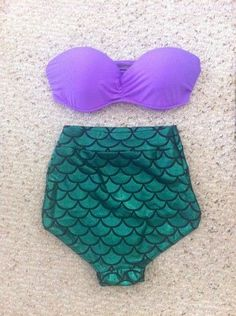 Little Mermaid bathing suit would go so good with my red hair!