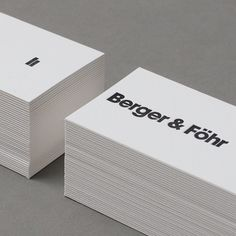 Berger & Föhr — Design & Art Direction