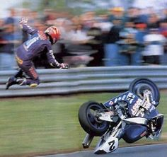 Motorcycle Racing Fail