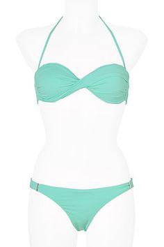 5a3fad6e58b83 Martinique bikini in mint. Melissa Odabash. Mint Bikini
