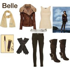 once upon a time outfits   Belle(Once Upon a time) Warrior outfit