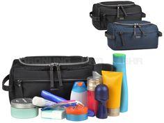 Bugatti CONTRATEMPO - Kulturtasche III Kulturbeutel Waschtasche Kosmetiktasche - schwarz oder blau 498385