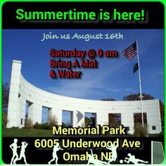 Come join us an August 16th for our Omaha FREE Fit Camp at Memorial Park @ 9am!  Fitness is our business.  Nutrition is the mission.  Helping our Community get Healthy and Active.  #herbalife #healthy #active #nutritious #community #omaha #lifestyle #teamwork #goal #thankgod #grateful #coach24fit #fitness #fitchicks