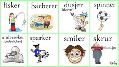 Norsk verbs Norway Language, Chinese English, Learning, Languages, Culture, Pictures, Idioms, Studying, Teaching