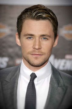 Because this is what he looks like combined with Chris Hemsworth