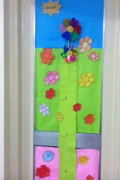here we grow! see your class grow. let them measure their heights quarterly