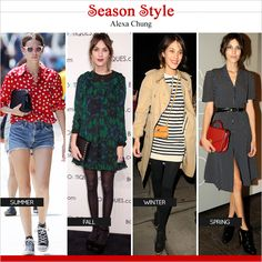 Seasonal Style: Alexa Chung 2013 -