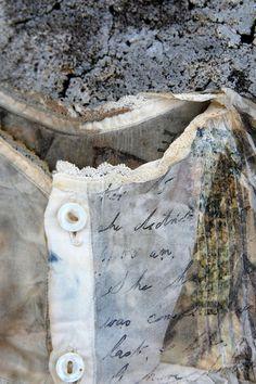 Mandy Pattullo, textile artist~ image transferred to fabric