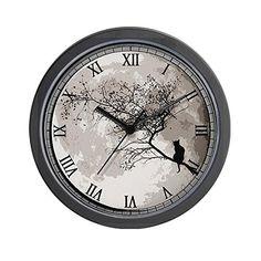 CafePress Cat Moon Wall Clock - Standard Multi-color Cafe... https://www.amazon.com/dp/B00O1O3N5K/ref=cm_sw_r_pi_dp_bNExxbWN46C9Q