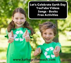 Kathy Griffin's Teaching Strategies: Earth Day Kid's Activities