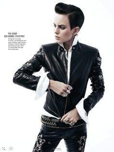 awesome ELLE SUÉCIA | Editorial de Moda Maio 2013 | Ellinore Erichsen por Andreas Öhlund