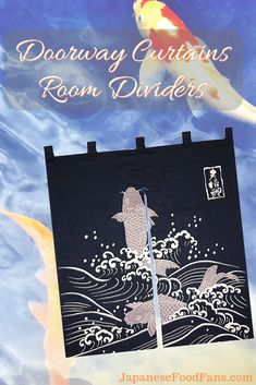 Made in Japan Indigo Dyeing Fortune Rabbit Noren Curtain Tapestry