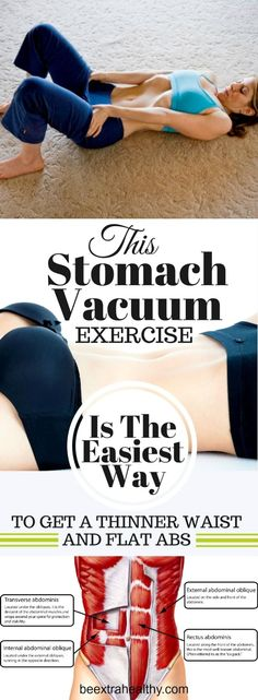 The Vacuum in The Stomach - Exercise for Slimmer Waist and Flat Stomach by shelly