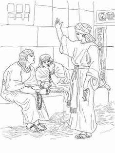 Joseph In Prison Maze Google Search Joseph Bible Crafts Bible