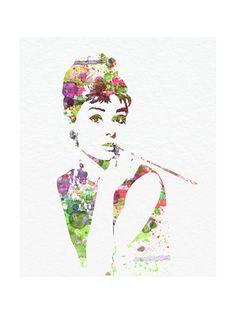 Audrey Hepburn 2 Art Print at AllPosters.com