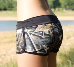 "Camo ""Nike"" shorts"