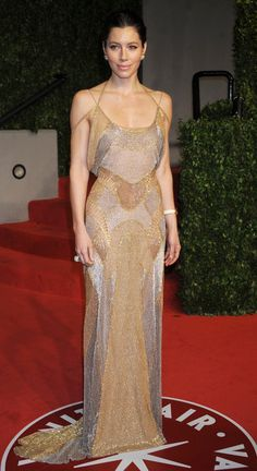 jessica biel in Versace. best celeb body