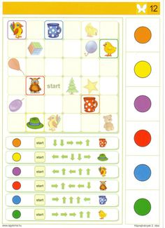 CSINÁLJUNK IDE IS EGY LOGICO PRIMO és PICCOLO csere-bere topicot / Véglegesen archivált témák / Fórum 4 Kids, Children, Eyfs, Math Activities, Kids Learning, Puzzles, Worksheets, Preschool, Coding