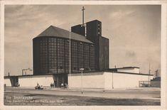 Bartning, Otto - Die Stahlkirche auf der Pressa, Köln (The Steel Church at the Pressa Exhibition, Cologne), 1927-28 (Photo: Hugo Schmölz)
