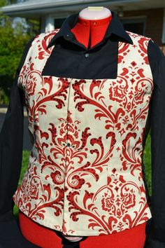 Custom square neck western vest made by KLS Designs Show Clothing