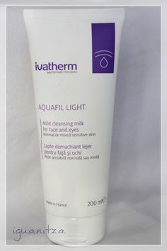 be a masterpiece: [Review] Ivatherm Aquafil Light / lapte demachiant lejer