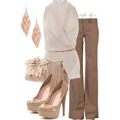 Soft and Feminine, created by styleofe on Polyvore
