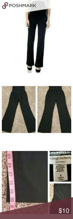 05cee3931c28e Liz Lange Maternity Black Dress Pants Excellent condition! No holes, rips,  or stains