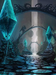Hall of the relics by ~Vaalan on deviantART