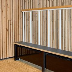 Heated seating anyone? Radiator bench saves spaces with two birds / one stone. Two Birds One Stone, Radiators, Space Saving, Color Combinations, Bench, Spaces, Interior Design, Furniture, Ideas