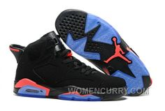 """c477ed7f68f6db 2017 Mens Air Jordan 6 """"Black Infrared23″ For Sale Authentic BYNSd"""