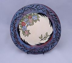 Colorful Painted Ceramics Gallery & malin-grumstedt.htm | Pottery Inspiration | Pinterest | Pottery ...