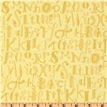 Believe Alphabet Yellow