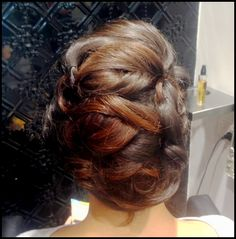 Amazing #updo from our #salon in Perth #blowdrybar