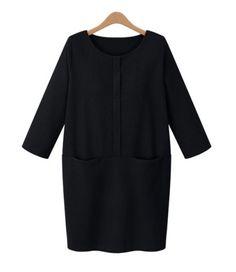 pockets make a black dress