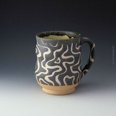 Satin Matte Mug for coffee cocoa or beer by coolmud on Etsy, $42.00